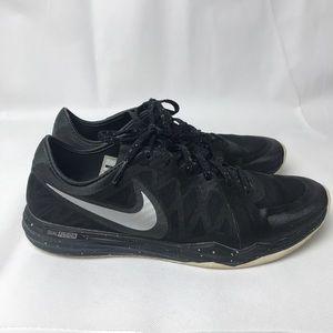 Nike Dual Fusion Black Lace Sneakers Run